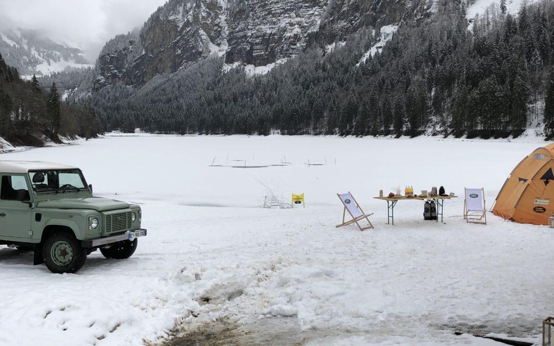 Land Rover – Essais presse Megève