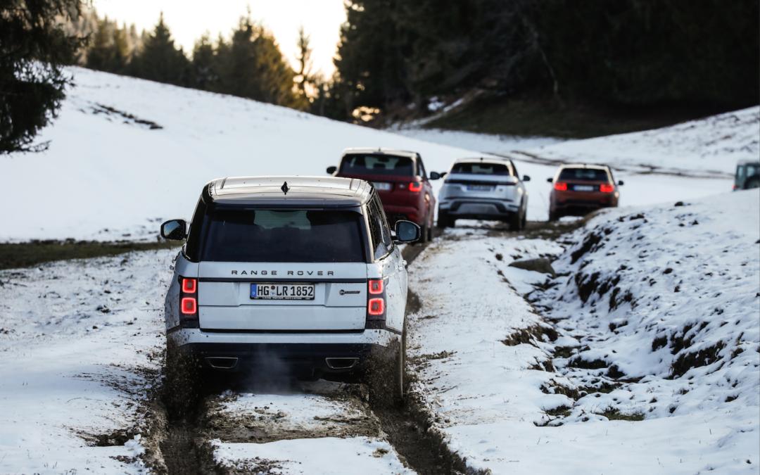 Land Rover – Essais Gamme Hybride